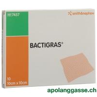 Bactigras Gazeverband 10cmx10cm 10 Btl