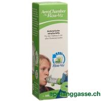 AeroChamber PLUS Flow-Vu ohne Maske (5+ Jahre) grün