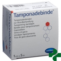 DermaPlast Tamponadebinde 1cmx5m steril